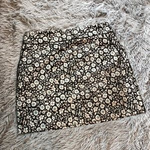 LOFT floral pattern skirt